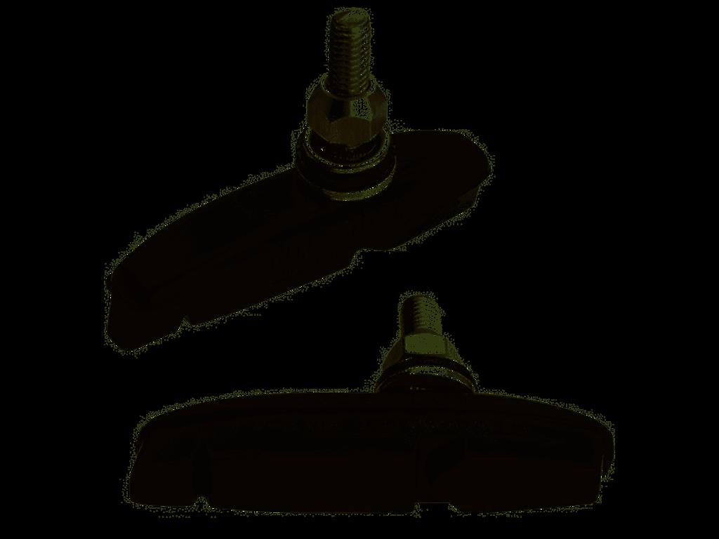 Kool Stop Eagle 2 Black - Bremsesko til Canti Lever og BMX - Aluminiums fælge
