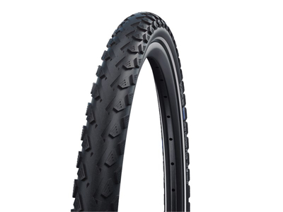 Schwalbe Land Cruiser Plus - PunctureGuard - 28x2,15 (55-622) Sort refleks - E-25