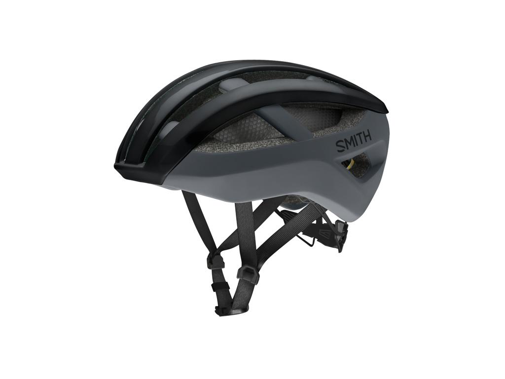 Smith Network Mips - Cykelhjelm - Sort Mat Cement