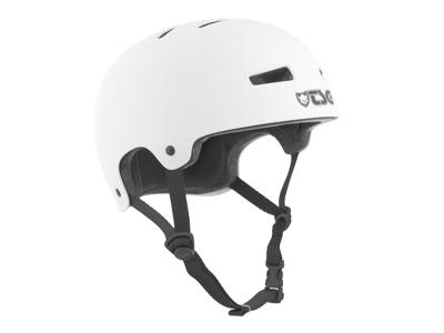TSG Evolution - Cykel- og skaterhjelm - Satin hvid