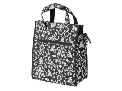 M-Wave Amsterdam Style Flower - Cykeltaske til bagagebærer - Enkelttaske  med mønster - So