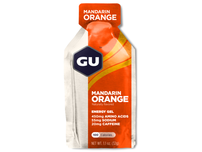 GU Energy Gel - Mandarin Orange - 20 mg koffein - 32 gram