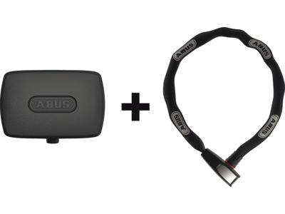 Abus Alarmbox + Ringlås 6806K - Alarmboks til sikring af ejendele - Sort