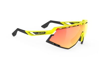 Rudy Project Defender - Løbe- og cykelbrille - Multilaser orange - Fluo gul