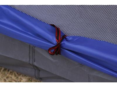 Lome Camping - Telt - 2 personer - Dobbelt lag - Orange/Blå