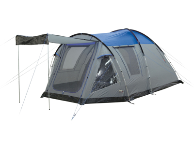 High Peak Santiago 5 - 5 personers telt - Grå/blå