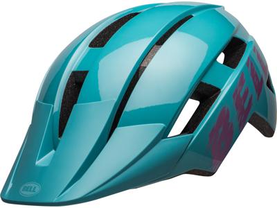 Bell Sidetrack II Junior - Cykelhjelm - Lysblå/Pink - Str. 50-57 cm