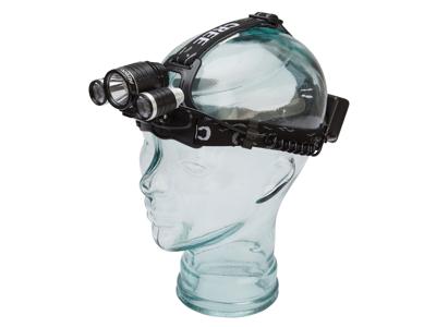 OnGear - Strålkastare och cykelljus - 1500 lumen - Laddningsbart - Aluminium - Svart