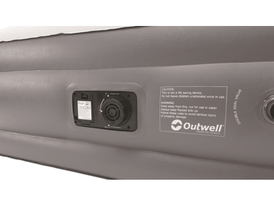 Outwell Superior Double - Selvoppustelig Luftmadras