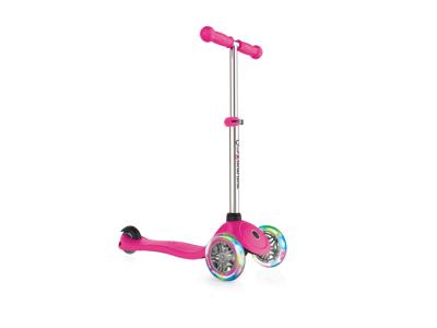 Globber Primo Lights - Løbehjul til børn med 3 hjul og lys