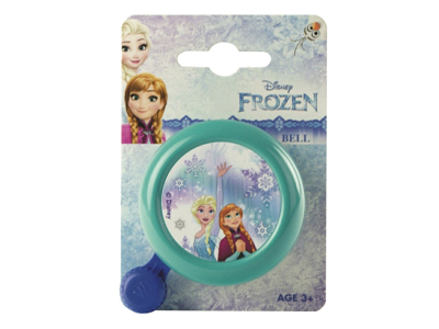 Frozen - Barncykelringklocka - Frostmotiv - Grön