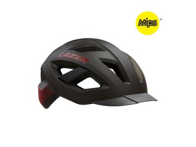 Lazer Cameleon MIPS - Cykelhjelm Sport - Mat sort rød