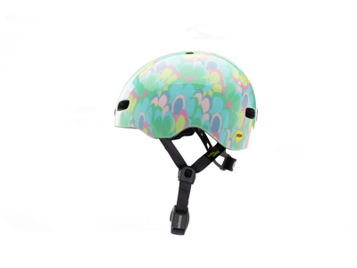 Nutcase - Baby Nutty MIPS - Cykelhjelm med skaterlook - Petal To Metal Gloss - 47-50 cm