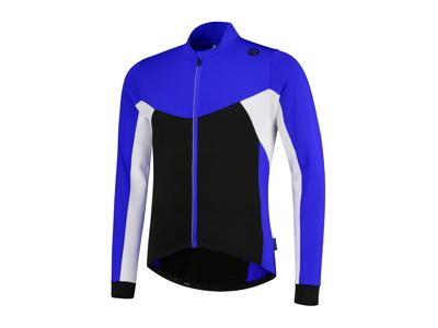 Rogelli Recco 2.0 - Cykeltröja - Långa ärmar - Barn - Svart / Blå / Vit