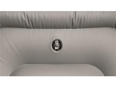Easy Camp Lounge Set - Campingstol med fodskammel - Grøn/Grå