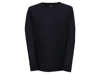 2117 Of Sweden Ullånger Eco - T-Shirt Merinould - Lange ærmer - Herre - Sort