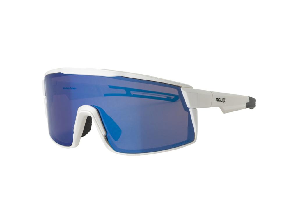 Image of   AGU - Verve - Sports- og Cykelbrille - 3 sæt linser - Mat Hvid