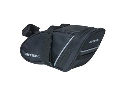 Basil Sport Design M - Sadeltaske- 1 liter - Black