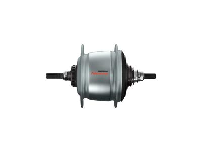 Shimano Nexus - Bagnav med 8 gear og friløb og til rullebremse - Type SG-C6011-8R - Sølv