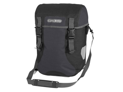 Ortlieb - Bike-Packer plus - Granit/Sort - 2 x 15 liter