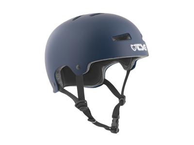 TSG Evolution - Cykel- og skaterhjelm - Satin blå