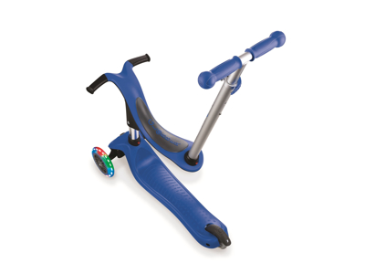Globber Go-Up Sporty Lights - 4 i 1 Løbehjul til børn