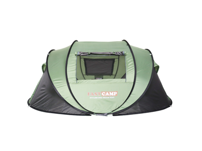 Lome Automatic - Telt - 4-5 personer - Grøn/Grå