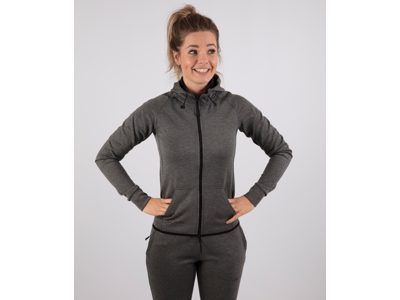 Rogelli Training - Sports hoodie - Dame - Carbon