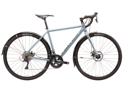 Kona Rove DL - Gravel Bike - 18 Gear - Sølvgrå