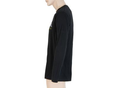 Sensor Merino Active Performance - T-shirt m. lange ærmer - Herre - Sort