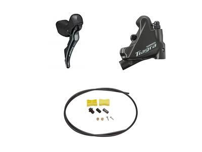 Shimano Tiagra R4720 - Skifte- og bremsegreb højre - Hydraulisk kaliber og olieslange