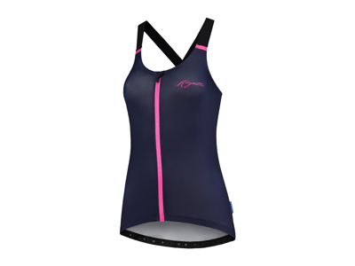 Rogelli Twist - Tank Top - Dame - Race Fit - Blå/Pink