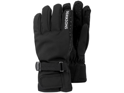 Didriksons - Five - Youth Gloves 3 - Sort