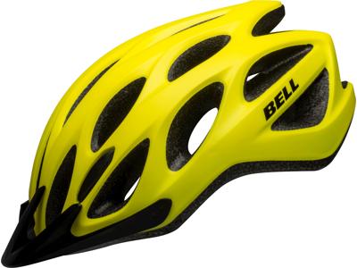 Bell Tracker - Cykelhjelm - Str. 54-61 cm - Mat gul