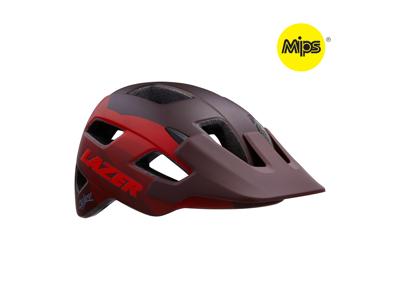 Lazer Chiru MIPS - Cykelhjelm MTB - Mat rød