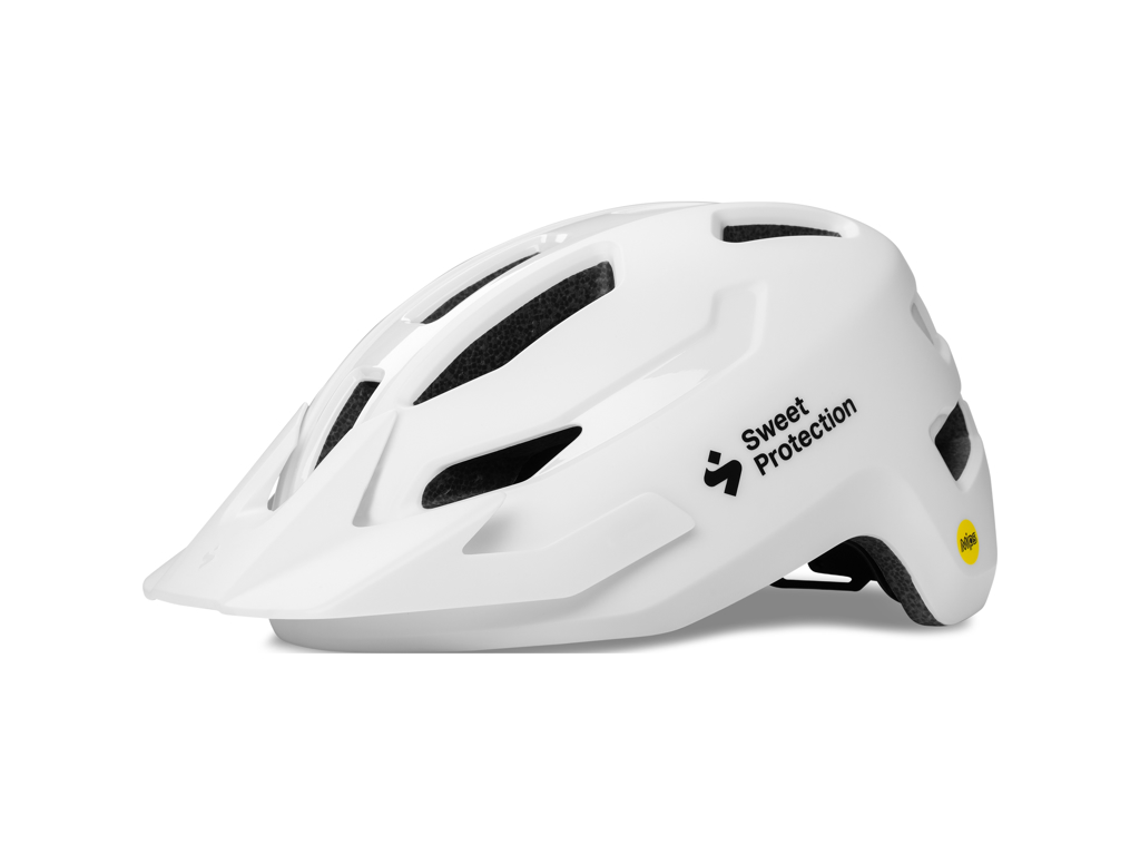Sweet Protection Ripper MIPS Junior - MTB hjelm - Mat hvid - Str. 48-53 cm thumbnail