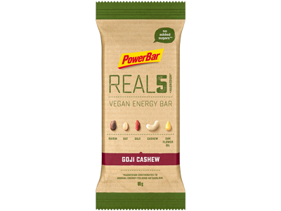 Powerbar - REAL 5 - Goji Cashew - Vegan - 65g