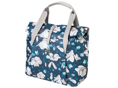 Basil Magnolia Shopper - Shoppingtaske - 18 liter - Teal blue