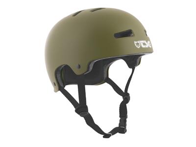 TSG Evolution - Cykel- og skaterhjelm - Satin oliven