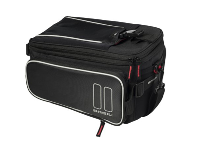 Basil Sport Design - Trunkbag - 7-12 liter - Black