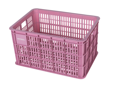 Basil Crate L - Plast kurv - Til opbevaring eller bagagebærer - Faded blossom