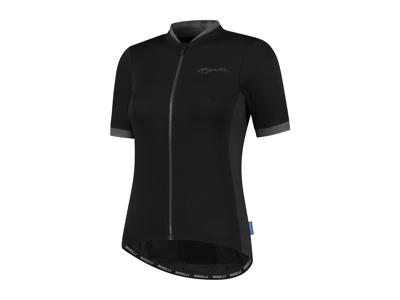 Rogelli Essential - Cykelbluse - Dame - Korte ærmer - Race Fit - Sort