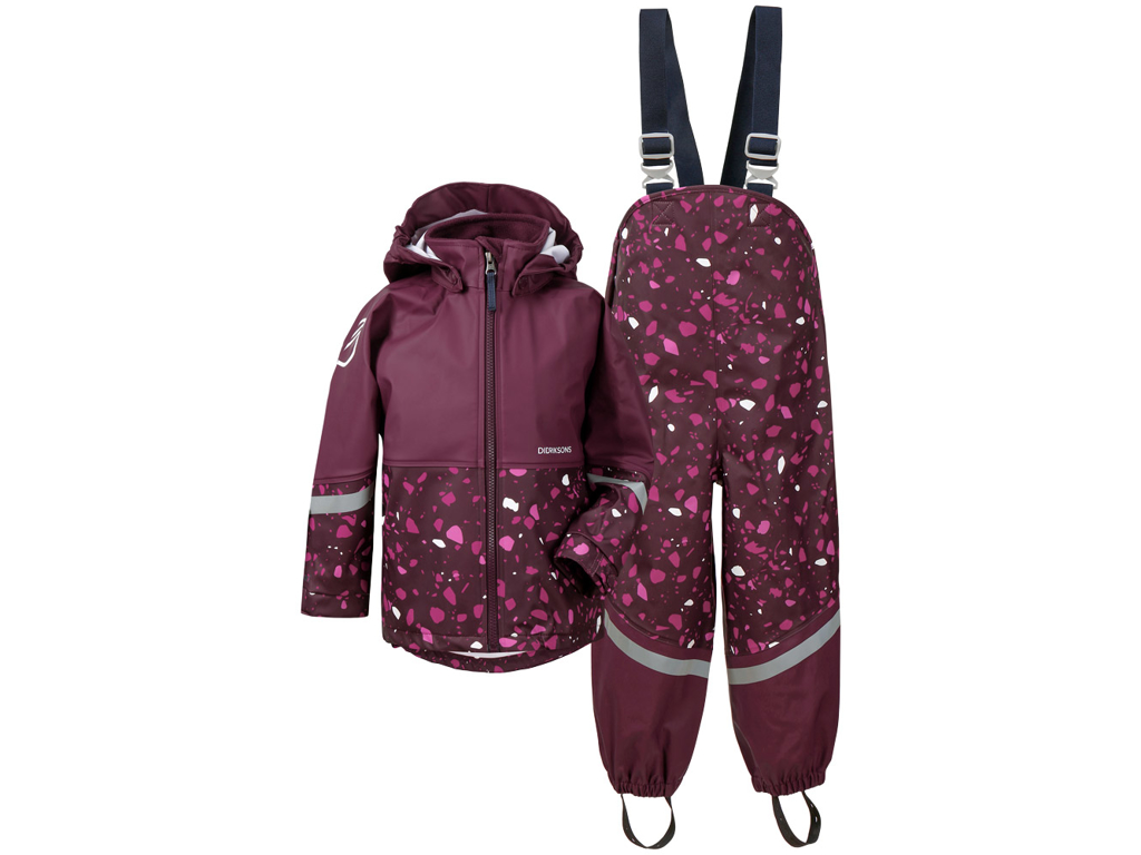 Didriksons - Waterman - Kids Set - Lilla - Str 130