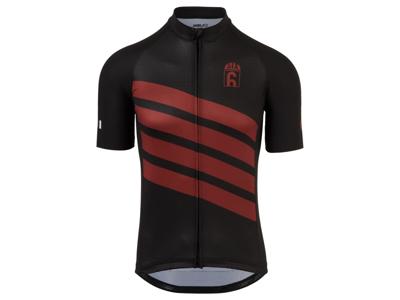 AGU - Classic - Cykeltrøje med korte ærmer - Sort/Rød