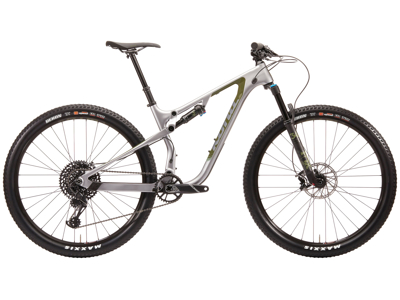 "Kona Hei Hei CR - MTB 29"" - Full Suspension - 12 gear - Sølv"