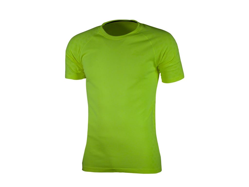 Image of   Rogelli Seamless - Sports t-shirt - Gul - Str. M