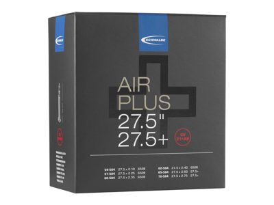 Schwalbe Air Plus - Slang 27,5 x 2,10-2,75 med Racer-ventil SV21 + AP