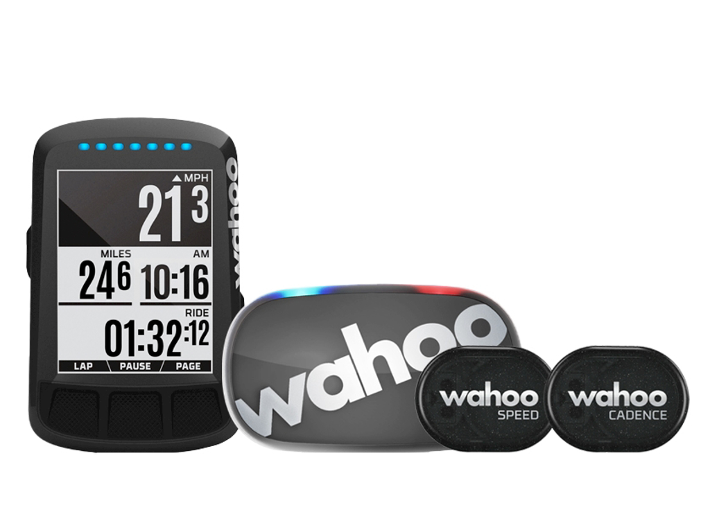 Wahoo - ELEMNT Bolt 2 - Cykelcomputer med GPS Bundle - Stealth thumbnail