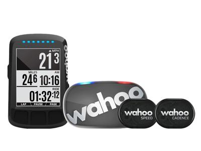 Wahoo - ELEMNT Bolt 2 - Cykelcomputer med GPS Bundle - Stealth