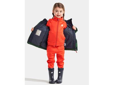 Didriksons - Lun - Kids Jacket 2 - Grøn/Blå